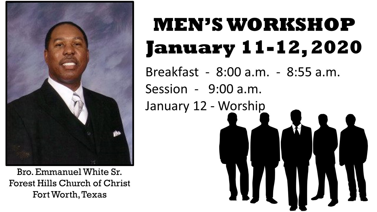 Men Workshop flyer